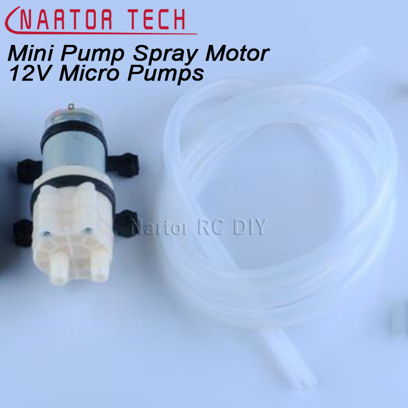 Priming Diaphragm Mini Pump Spray Motor 12V Micro Pumps For Water Dispenser 90 mm x 40 mm x 35 mm Max Suction 2m