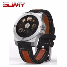 Slimy Bluetooth 4.0 Multi-mode Sports Smart Watch Waterproof Dynamic Heart Rate Monitor Wristwatch Outdoor Support Barometer
