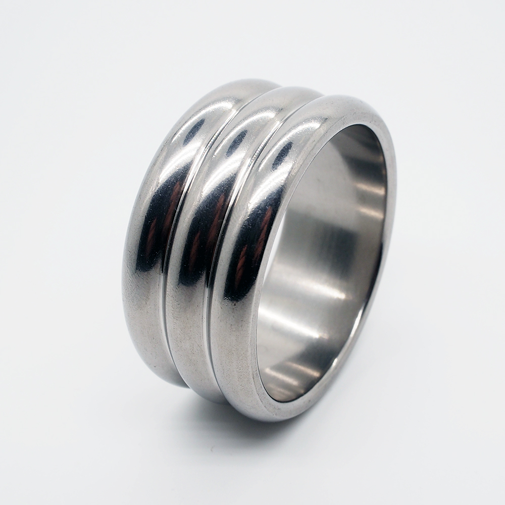 Dia 47Mm Stainless Steel Cock Ring Metal Penis Ring Scrotum Stretcher Male Time Delay Sex Ring For Men Sex Toys Penis Lock-In Penis Rings From -3594