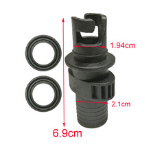 Inflatable PVC Boat Kayak Air Valve Adapter Inflation Dinghy Valve Adaptor Air Pump Hose Screw Valve Connector