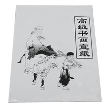 30 листов белая бумага для рисования традиционная бумага Xuan рисовая бумага китайская живопись и каллиграфия 35,5 см* 25,5 см