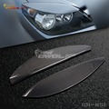for Vauxhall Opel Astra H Eyebrow Headlight Cover Eyelid 04-09 Carbon fiber [1011151.]