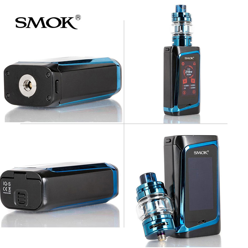 Original SMOK MORPH 219 Kit 219W with TF2019 Tank For Electronic Cigarette morph mod kit VS x priv G PRIV Mag nord species vape in Electronic Cigarette Kits from Consumer Electronics