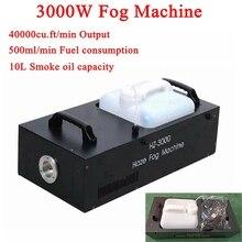 Высокая Мощность 3000 W дым машина Беспроводной управления профессиональный светодиодный дым-машина для свадьбы стадии вечерние Бар Диско DJ