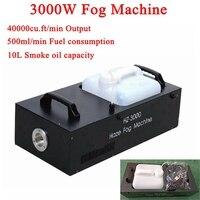 High Power 3000W smoke machine Wireless control Professional LED fog machines For wedding Stage party bar DJ Disco
