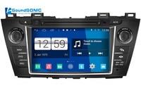 Android 4.4.4 для Mazda 5 Premacy 2009 2010 2011 2012 Авто Радио Стерео DVD GPS навигации СБ Navi мультимедиа media Системы