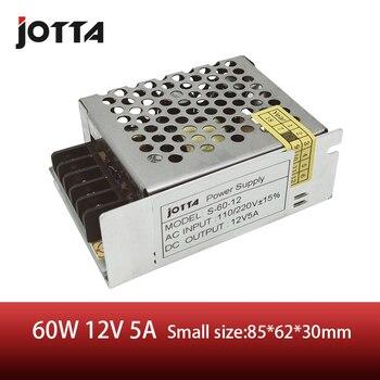 цена на Jomall 60W 12V 5A Single Output 12v DC Switching Power Supply Small Size