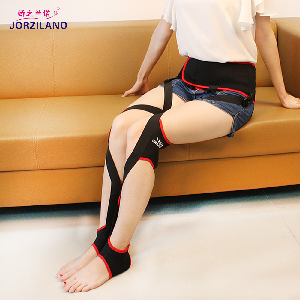 JORZILANO Adjustable Corrective Scupting Legs Bandage Band O X Type Leg Correction Belts All Day Use Walk Recovery Corrector ferrino o hare day pack