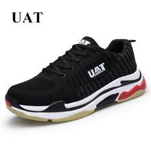 UAT Nieuwe heren sneakers lifestyle loopschoenen demping en ademende mesh sportschoenen voor heren wandelschoenen sneakers lente zomer