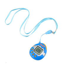 Plastic Virtual Digital Game Machine Funny Cyber 3 Colors Pet Toy High Quality Electronic Pets Blue Red Yellow Color