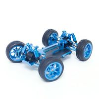Wltoys 1/18 4WD A959 A969 A979 All Metal RC Car Chassis RC Vehicle Models Parts For Boys Toys Gifts