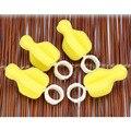 5 Pcs Esponja Limpa Escova de Bebê Mamilo Tetina Bule Bico Bico de Limpeza do Tubo Novo