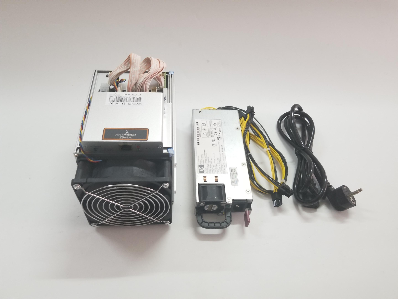 YUNHUI se Antminer Z9 Mini 10k Sol/s 300W ZCASH ZEN ZEC BTG Asic Equihash minero puede mío ZEN ZEC BTG moneda puede llegar a 14 - 3