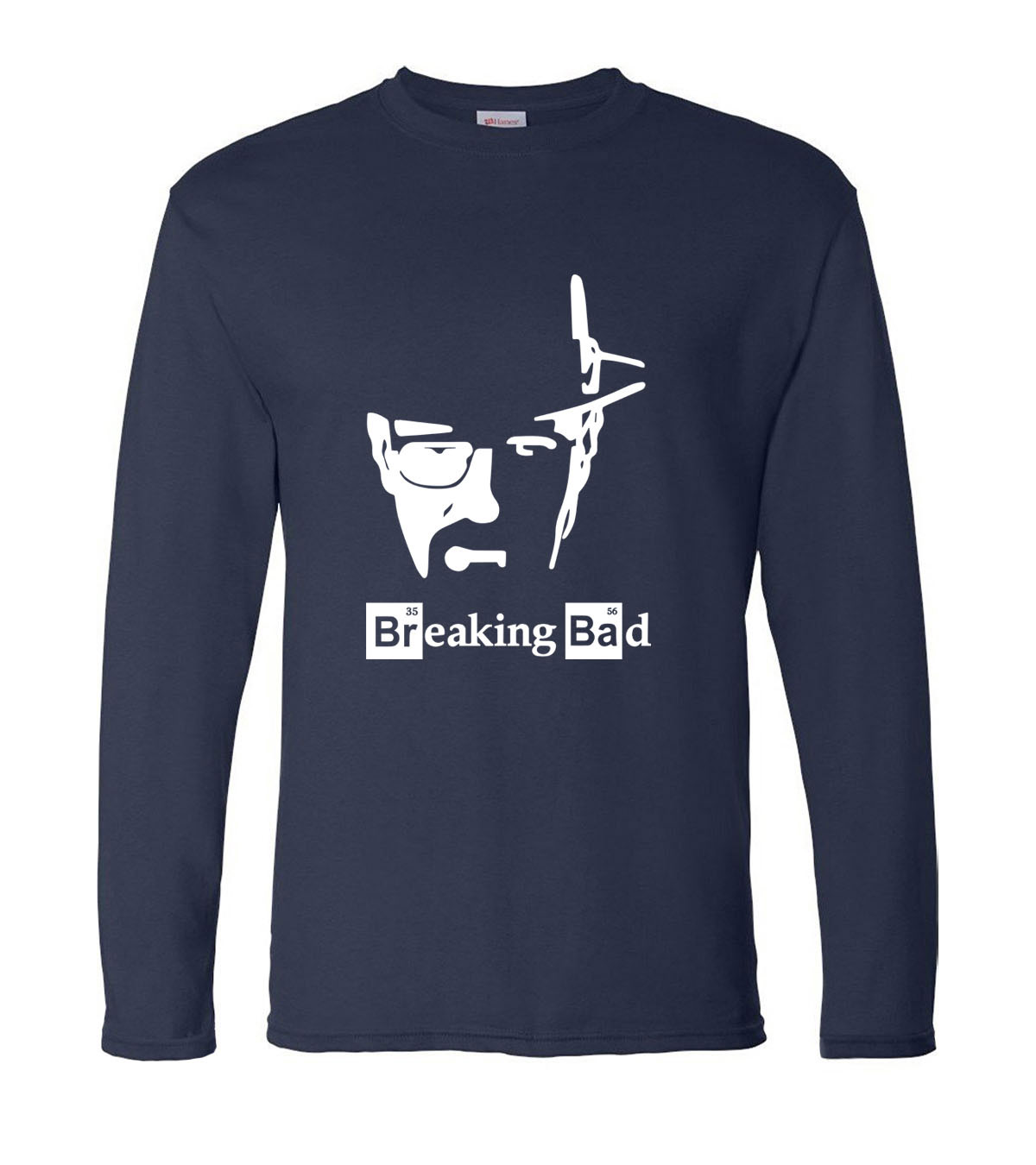 Breaking Bad Heisenberg men long sleeve   T  -  shirts   Los Pollos Hermanos Walter White Cook 2019 new spring 100% cotton man   t     shirt