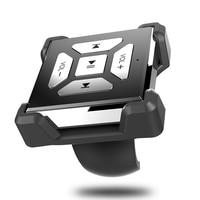 Car Styling Bluetooth Handsfree Car Wireless Bluetooth Media Remote Control Car Steering Wheel Remote Button Car