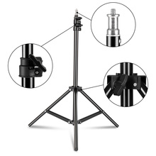 78inch/6.5 Ft/200CM Photography 1/4″ Screw Tripod Light Stand For Photo Reflector Soft Box Umbrella Background Video Studio