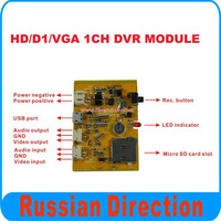 1CH SD DVR Motherboard Work With 32GB Micro Sd Card