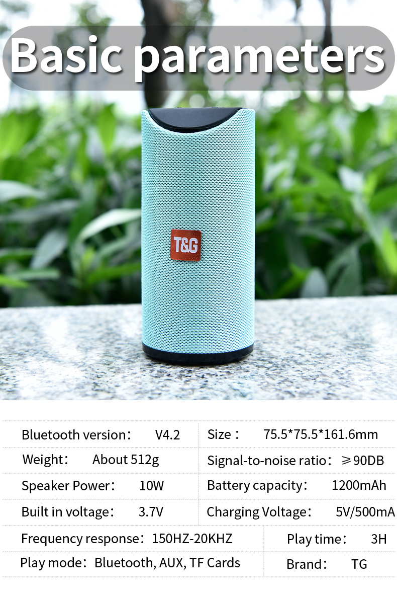 Wireless Portable Bluetooth Speaker HTB1XnipKAzoK1RjSZFlq6yi4VXah speaker