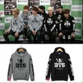 kpop BTS Bangtan Boys 2016 winter new SUGA V jin same paragraph Sweatshirts hedging k-pop bts Korean Fleece Hoodies Sweatshirts