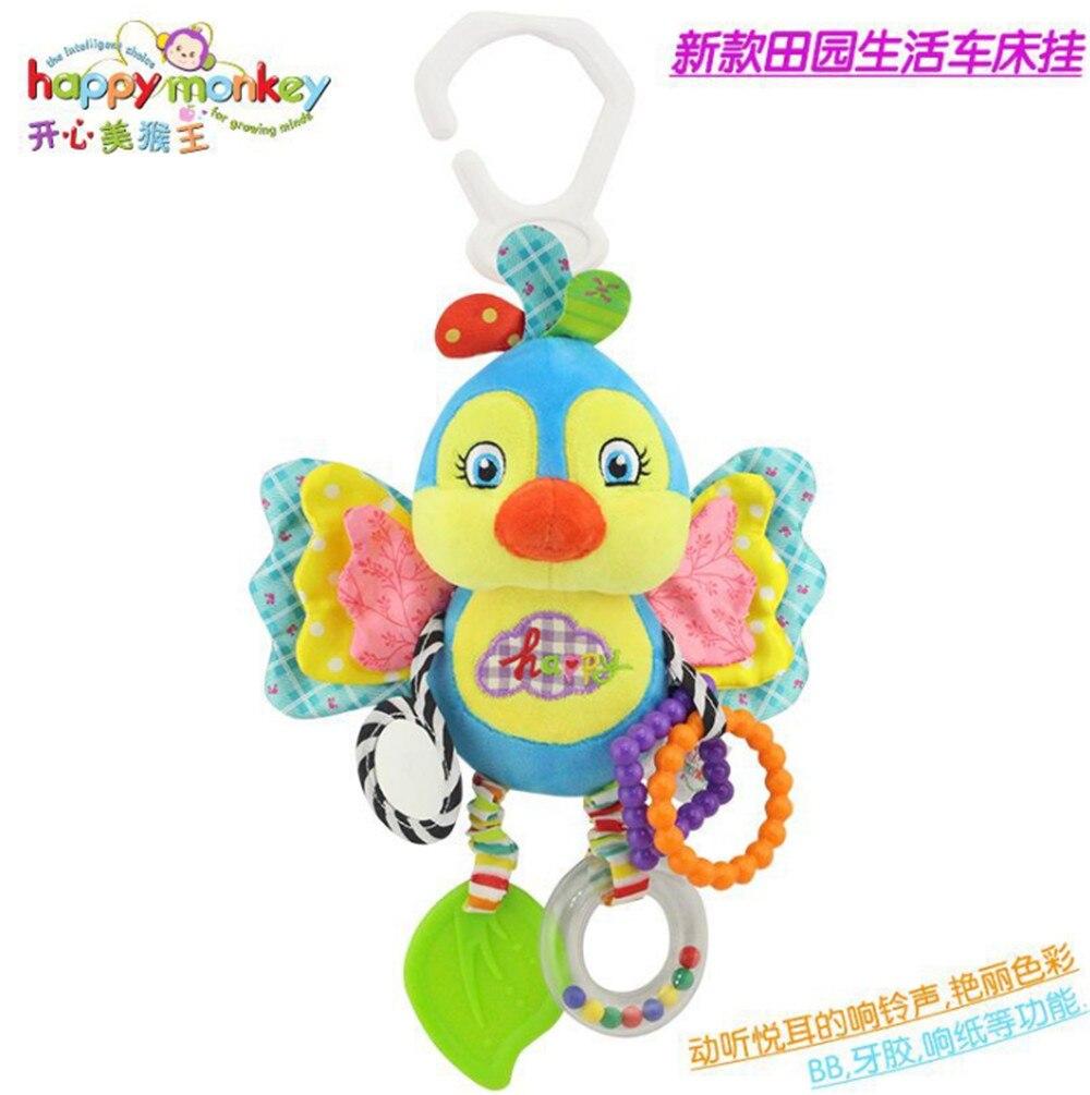 Happy Monkey bebé campanilla neonatal bebé juguetes con campana BB - Juguetes para niños - foto 4
