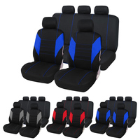 Dewtreetali Hot Sale Universal Automobile Seat Cover Car Seat Cover Polyester Full Set Car Seat Protector Auto Accessories