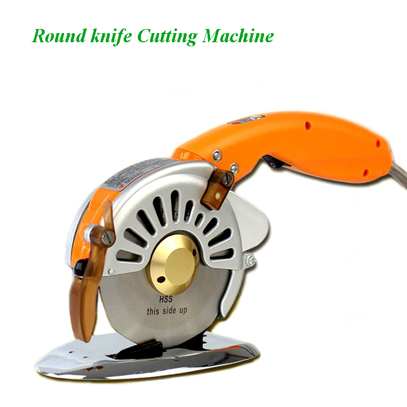 New Electric Round Scissors Clothing Cutting Machine Automatic Sharpening Direct Drive Electric Scissors RSC 100