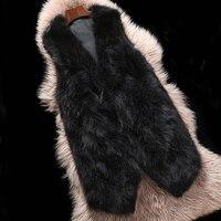 2018 New Top Brand Fitting Well Export Quality Natural Raccoon Fur Vest Real Fur Women Waistcoat Gilet KSR211