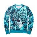Hot 2017 Mens Hodies 3D Prited O Neck Sweatshirts Long Sleeve Fashion Casual Originality Men Hoody Hooded Brand Clothing