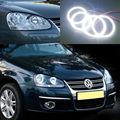 Para volkswagen vw jetta mk5 2005 2006 2007 2008 2009 2010 excelente kit de Halo Anel Angel Eyes led Ultra brilhante led smd
