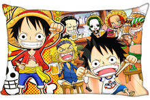 Pillowcase One Piece Bedding rectangle Zipper Pillow Throw Pillow Cover 45x35cm(One Side)