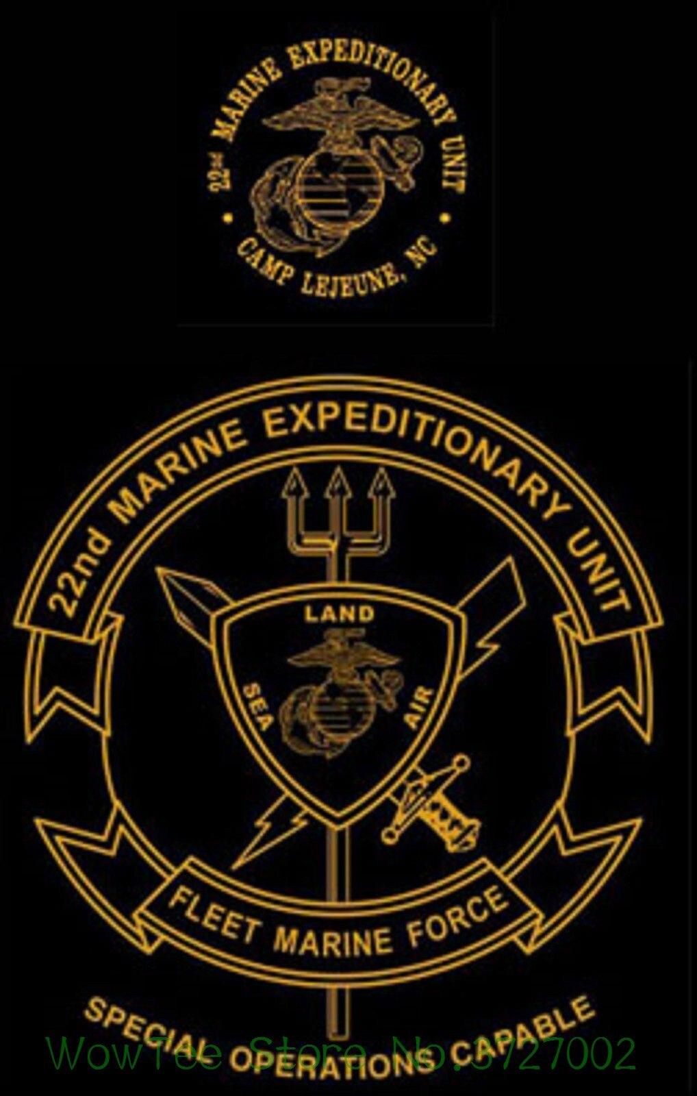 US $14 15 8% OFF|Marine Corps 22nd Marine Expeditionary Unit Meu Soc Camp  Lejeune , Nc Usmc Shirt Tshirt Men 2018 New-in T-Shirts from Men's Clothing