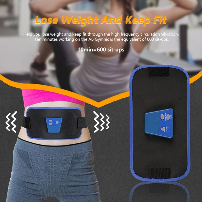 Slimming Body Massage belt AB Gymnic Arm leg Waist Weight Lost Electronic Muscle Massager Belt Slimming Product Health Care L3