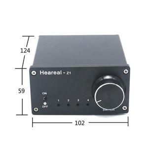 Image 2 - Lusya 4 Ingang 1 Output/1 Ingang 4 Output Twee weg Audio Signaal Switcher Schakelaar Splitter Selector Met rca AC100V 240V L1 002