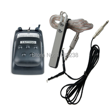 Tattoo Gun Machine Dual POWER SUPPLY & FOOT PEDAL+CLIP CORD switch set kit for needles grip