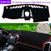 For Porsche Cayenne 2011 2017 Dashboard Mat Protective Interior Photophobism Pad Shade Cushion Car Styling Auto