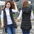 TX1471 Barato al por mayor 2017 nueva Otoño Invierno Caliente venta de moda casual bolso agradable femenina cálido Chaleco de Vestir Exteriores