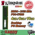 Kingston ValueRAM столе ОПЕРАТИВНОЙ памяти DDR4 4 ГБ 8 ГБ 2133 МГц PC4 17000, Не ECC 288 Pin DIMM memoria оперативной памяти компьютер computador пк ram