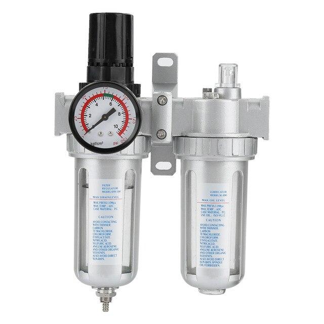 0 1mpa Air Compressor Vochtvanger Olie Water Filter Drukregelaar