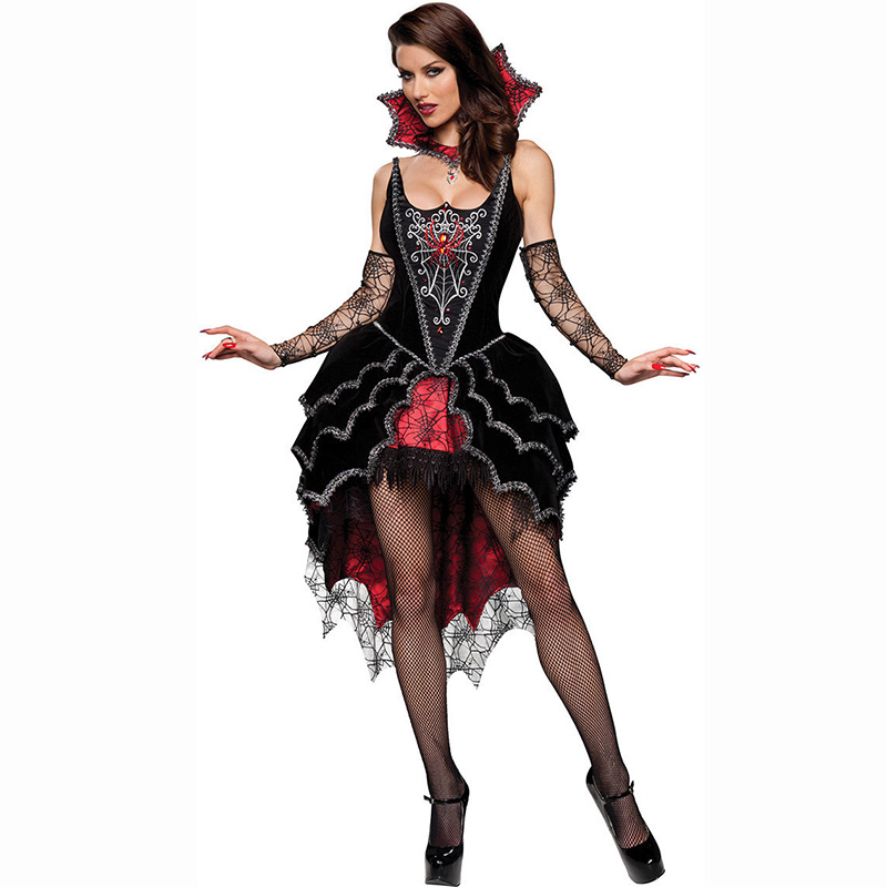 hot spiderman role playing gothic halloween costumes for women vampire fancy dress plus size cosplay sexy adult costume witches in sexy costumes from