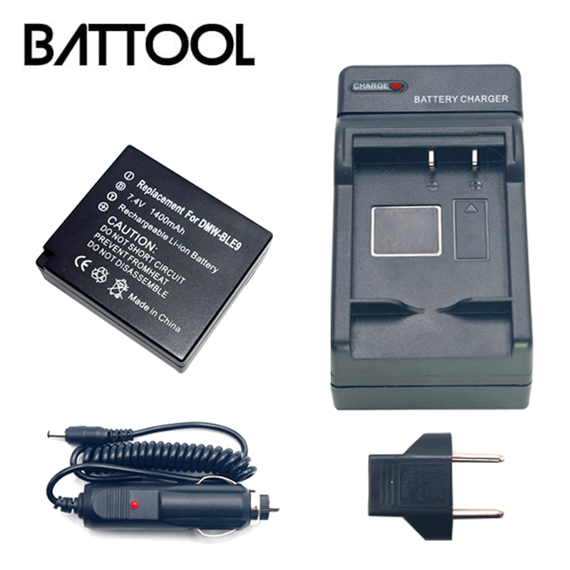 1X DMW-BLG10 BLG10 DMW-BLE9 BLE9 Rechargeable Battery+Battery Charger for Panasonic Lumix DMC GF6 GX7 GF3 GF5 ZS100 ZS60 LX100 tectra 4pcs dmw blg10 dmw ble9 bp dc15 bateria usb dual charger with ac adaptor for panasonic lumix gf5 gf6 gx7 lx100 gx80