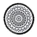 Stylish 2016 New Arrival Round Hippie Tapestry Beach Throw Roundie Mandala Towel Yoga Mat Bohemian Style Free Shipping JL23