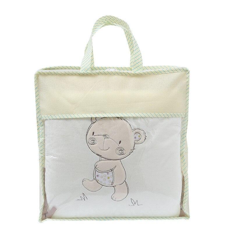 детская кровать бампер хлопок/плюшевые пеленальные принадлежности набор для новорожденных малышей детская кровать вокруг белье выступ детская кроватка бамперы