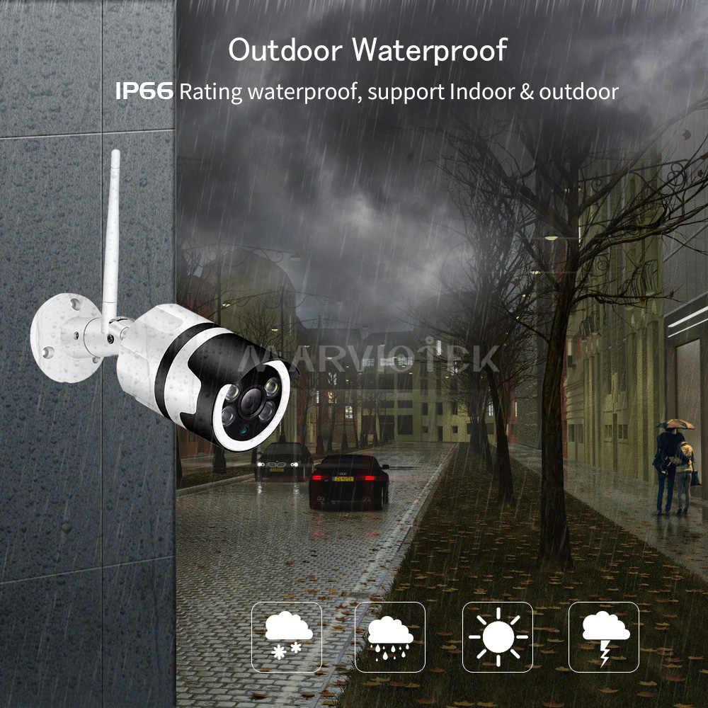 IP 屋外ホームセキュリティビデオ監視カメラ P2P 防水 CCTV カメラ 1080P ナイトビジョンミニカメラ HD ワイヤレス