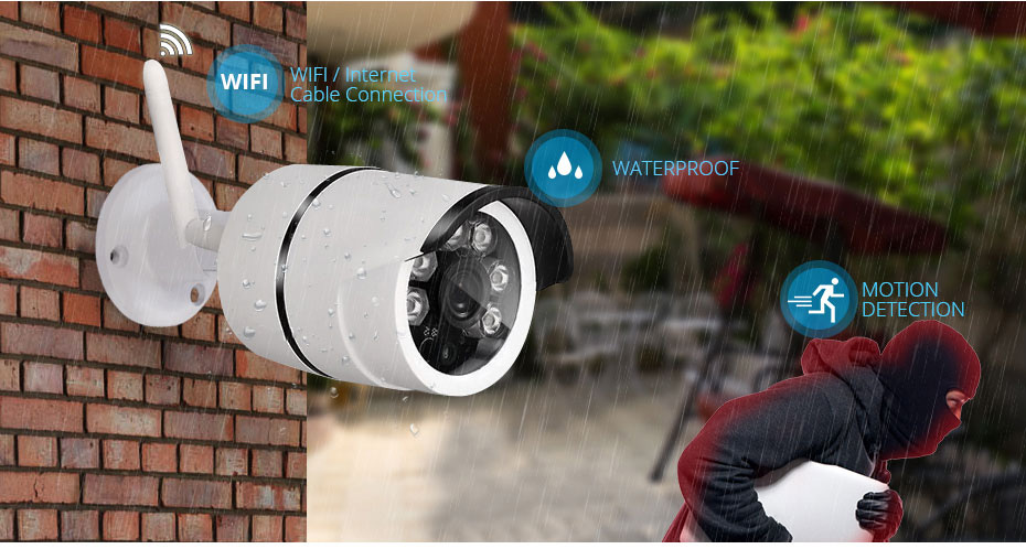 home video system outdoor-waterproof-wifi-camera