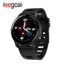 цена S08 Men Sport Pedometer Smart Watch IP68 Waterproof Fitness Tracker Heart Rate Monitor Women Clock Smartwatch онлайн в 2017 году