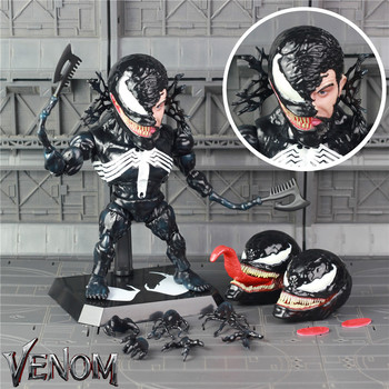 2018 Marvel 18 cm Venom Hành Động Hình Tom Hardy Edward Brock Ban Đầu MA Đồ Chơi Q Búp Bê Dễ Thương Movie Spiderman Of Legends TRỨNG Sưu Tập