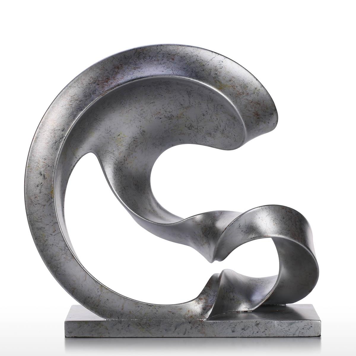 Tooarts Tomfeel Sculpture Spoondrift Figurines artisanat moderne résine ornement pour bureau décoration de la maison accessoires cadeau délicat