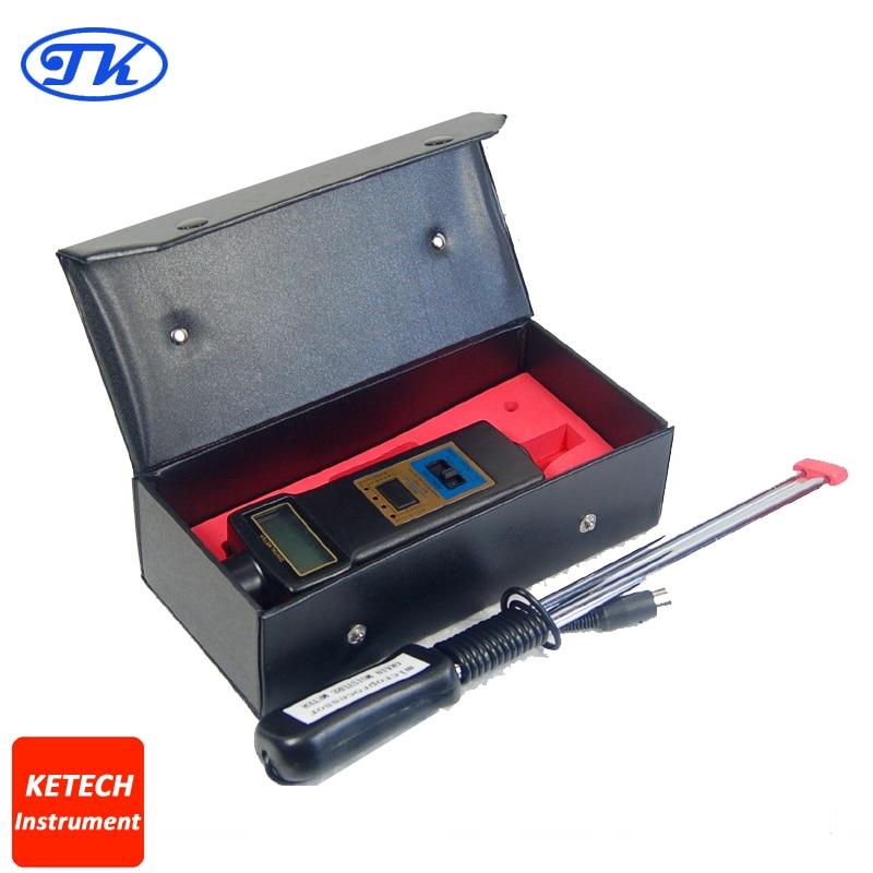 MC7821 Portable Digital Moisture Meter MC-7821 mc 7806 digital moisture analyzer price with pin type cotton paper building tobacco moisture meter
