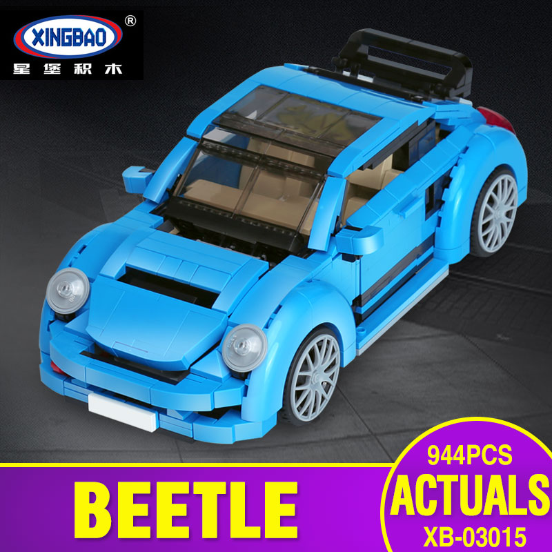 X Model Compatible with X03015 944Pcs Beetle Car Models Building Kits Blocks Toys Hobby Hobbies For
