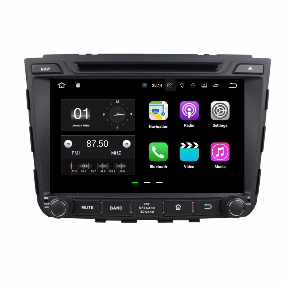 2GB RAM Quad core 2 din 8 Android 7 1 Car DVD Player for Hyundai IX25